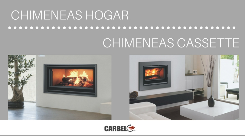 Comparativa entre chimeneas cassette y chimeneas hogar