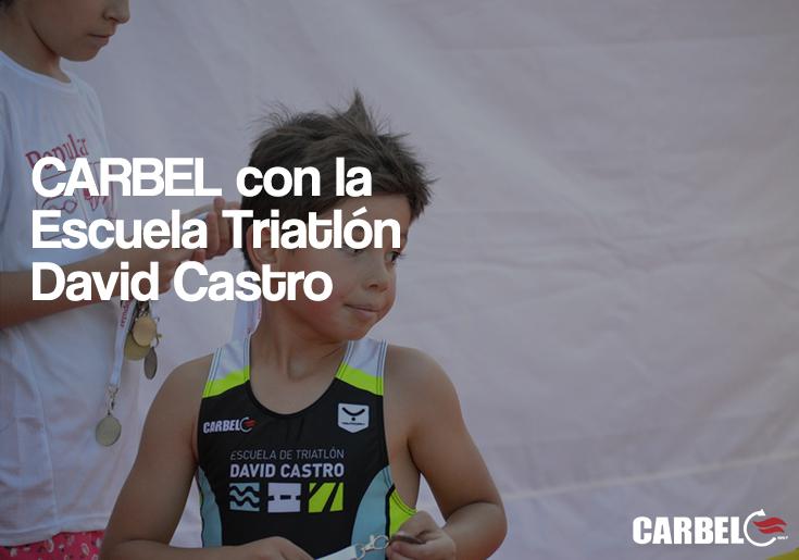 CARBEL con la Escuela Triatlón David Castro