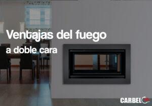 estufas de fuego carbel