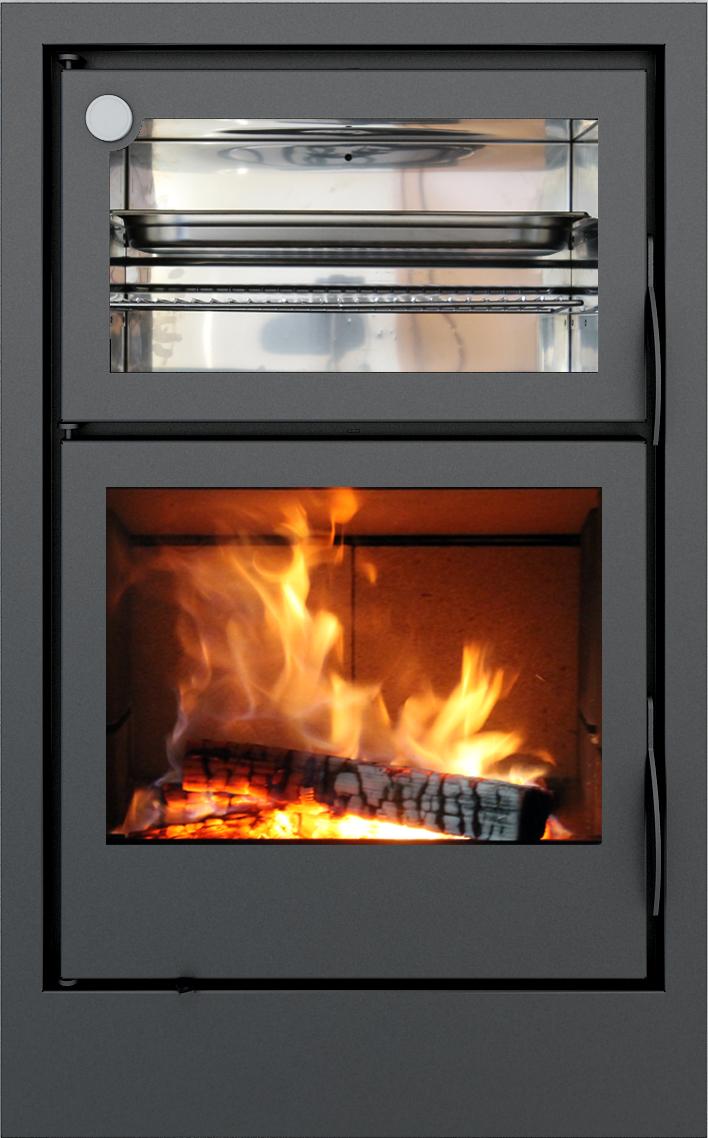 Carbel chimeneas y estufas de le a estufas con horno - Cocinar horno de lena ...