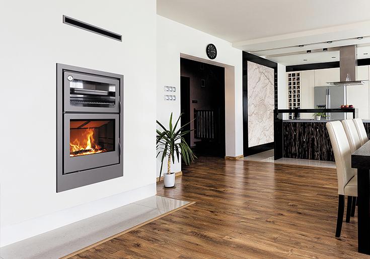 Carbel: chimeneas y estufas de le̱a Рestufas con horno