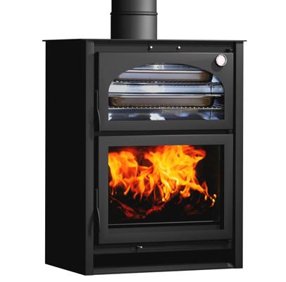 Carbel chimeneas y estufas de le a estufa con horno xl - Estufas sin chimenea ...