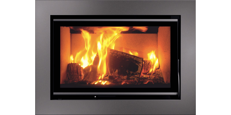 Enjoyable Insert Fireplace Kronos 70 Carbel Home Interior And Landscaping Ologienasavecom